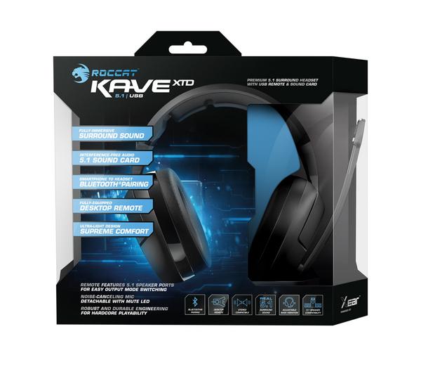 Test słuchawek Roccat Kave XTD 5.1 Digital