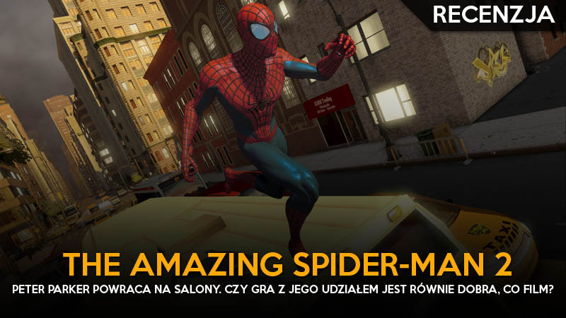 recenzja- the amazing spider-man 2 ps3 ggk