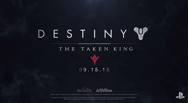 destiny the taken king -GGK