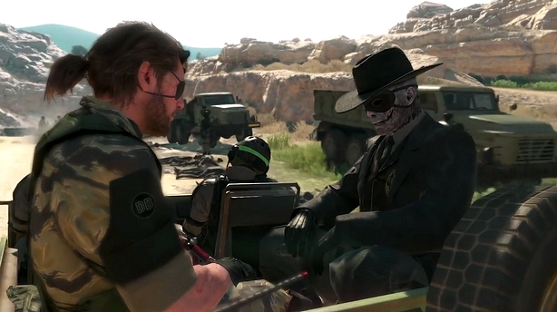 metal gear solid v gameplay e3 2015 -GGK