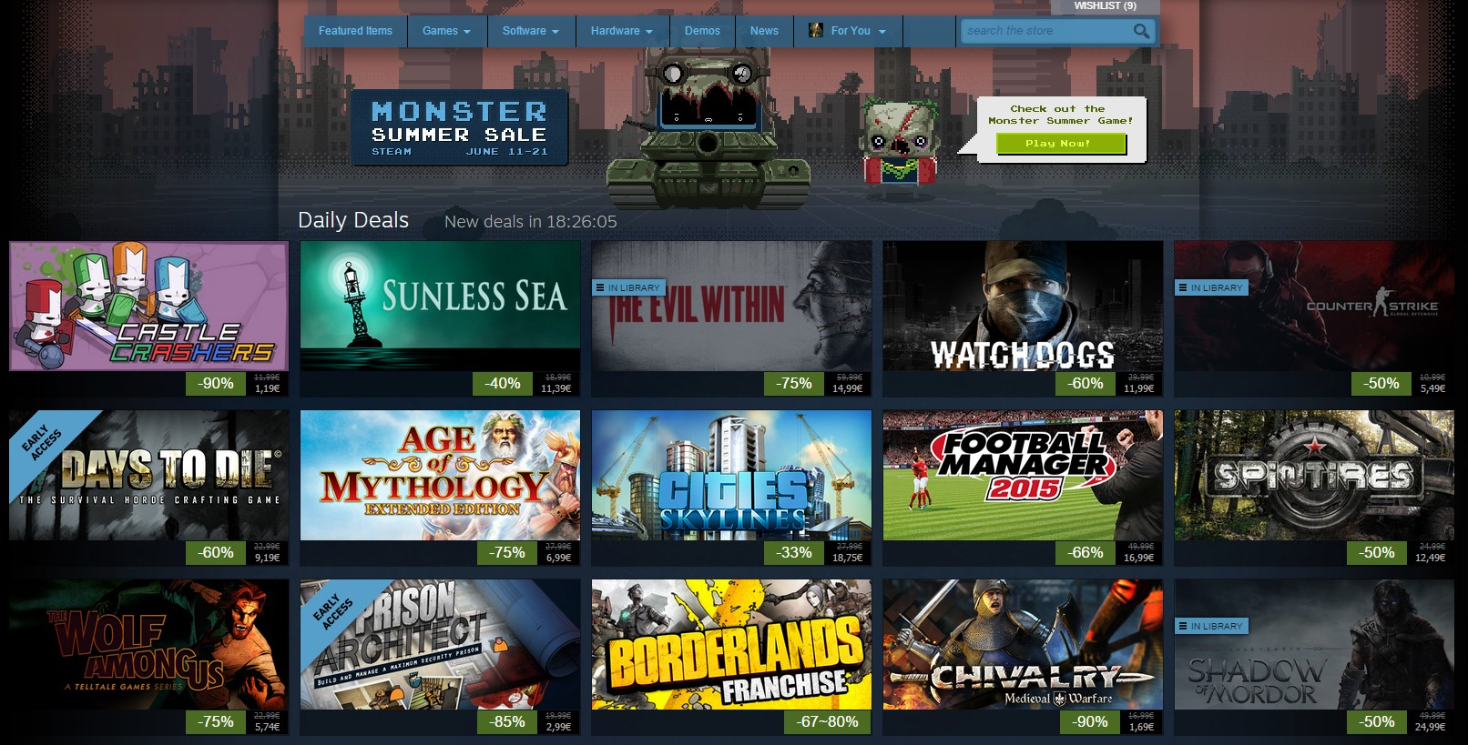 monster summer sale steam dzien 3