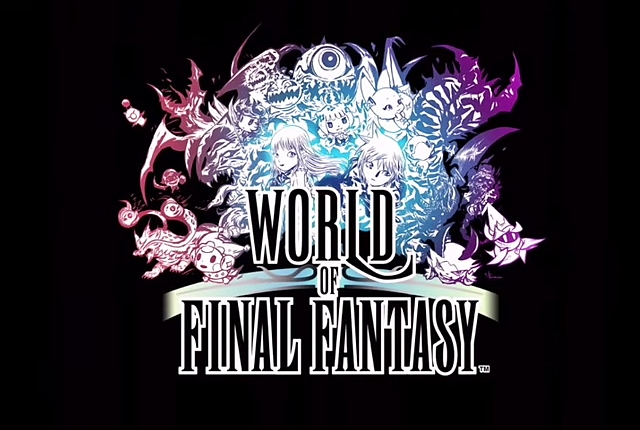 world of final fantasy e3 2015 -GGK