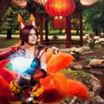 Yuke's Cosplay World jako Firefox Ahri z League of Legends