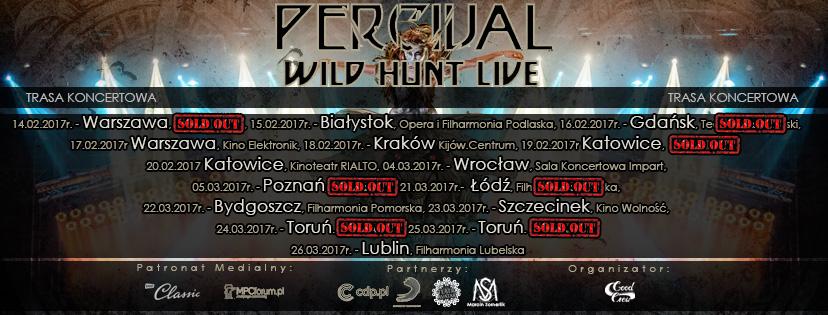 Percival Wild Hunt Live Projekt cover FB (Polska)