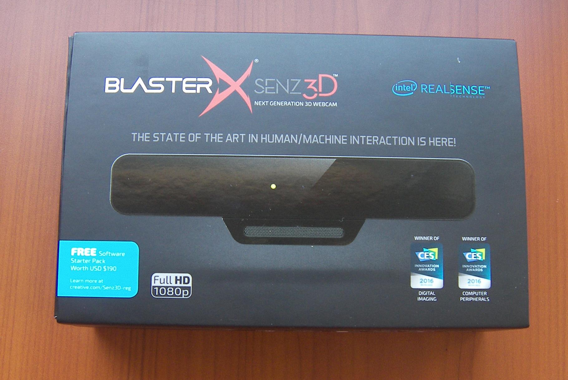 test -Creative-BlasterX-Senz3D