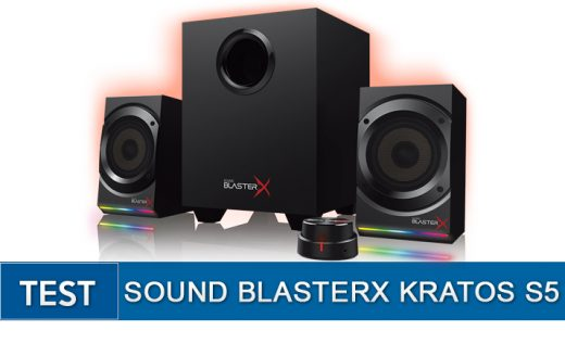test -Sound-Blaster-X-kratos-S5
