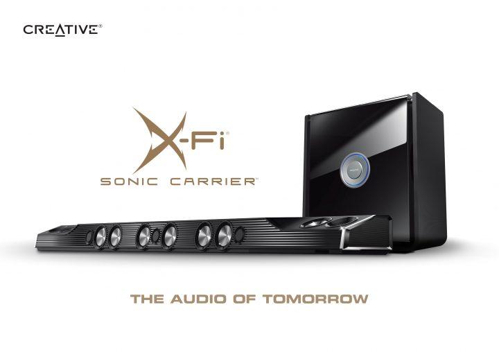 new -X-Fi Sonic-Carrier