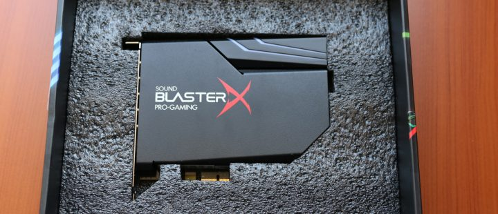 test -Sound-BlasterX-AE-5-1