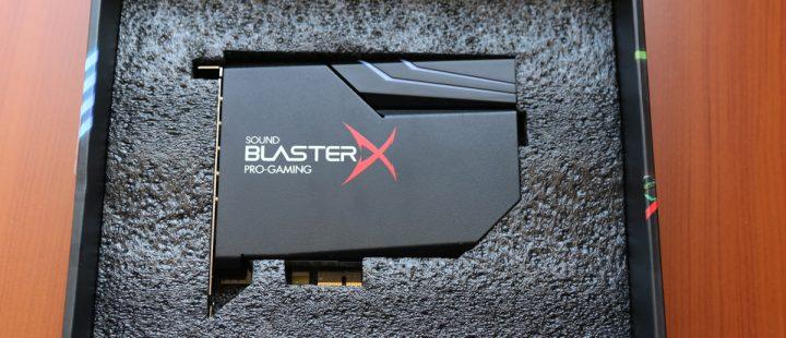 test -Sound-BlasterX-AE-5-1