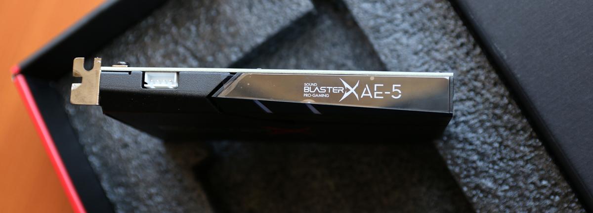 test -Sound-BlasterX-AE-5-5