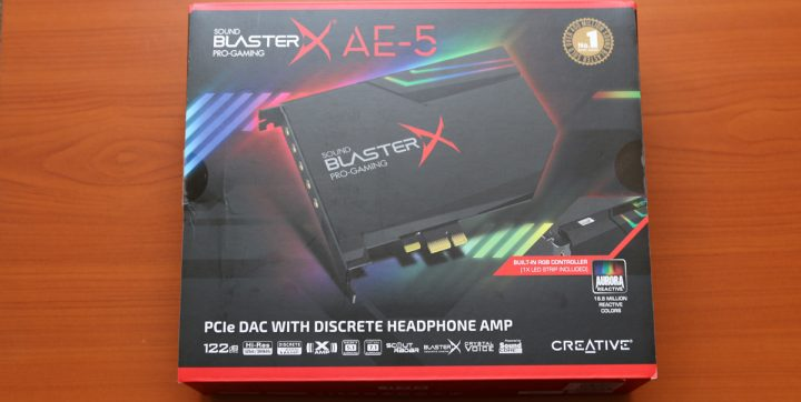 test -Sound-BlasterX-AE-5