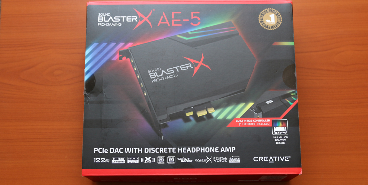 test -Sound-BlasterX-AE-5