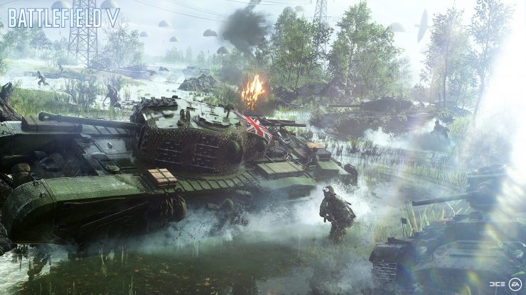 feat -Battlefield-V