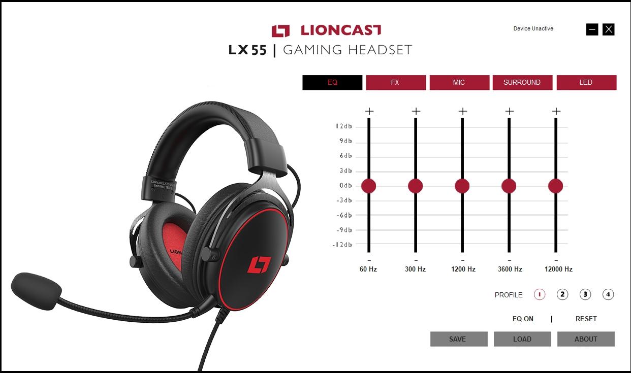 test -Lioncast-LX55